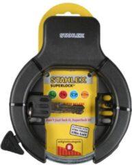 Stahlex Ringslot 470 Deluxe + 2 Sleutels - Zwart
