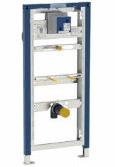 Geberit voorwand-/inbouw element urinoir met drukspoel, staal, (hxbxd) 1130x500x75mm constructie