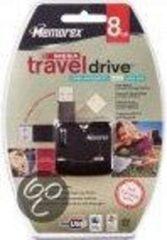 Zwarte Merkloos / Sans marque Drive Mega - USB-stick - 8 GB