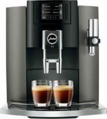 Grijze Jura Impressa E8 - Espressomachine - Dark Inox