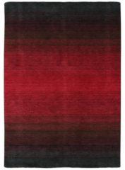 Rode MOMO Rugs - Laagpolig vloerkleed MOMO Rugs Panorama Black Red - 170x240 cm