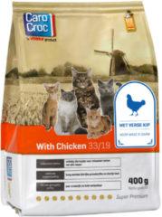 Carocroc With Chicken Gevogelte&Rijst&Granen - Kattenvoer - 400 g - Kattenvoer