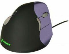 Paarse BakkerElkhuizen Evoluent4 muis Optisch Rechtshandig Zwart, Violet