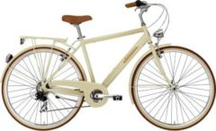 28 Zoll Herren City Fahrrad 6 Gang Adriatica... creme, 55cm