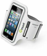 Muvit sport armband - wit - XL