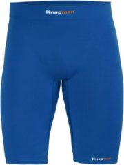 Knapman Zoned Compression Short 45% Royal Blauw | Compressiebroek (Liesbroek) voor Heren | Maat M
