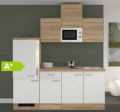 Flex-Well Küchenzeile G-210-1602-000 Samoa 210 cm