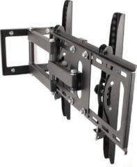 Zwarte Merkloos / Sans marque TV steun voor tv's van 26-55 inch, tv beugel, tv standaard, muurbeugel met waterpas