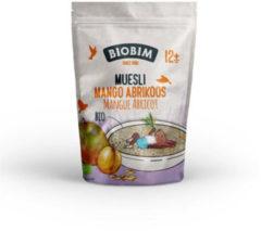 Biobim Muesli 12+ mnd Mango Abrikoos - 6x150 gr - Voordeelverpakking