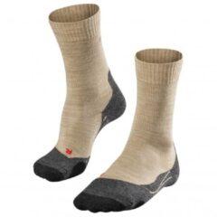 Falke - Women´s TK2 - Trekkingsokken maat 35-36 beige/grijs/zwart
