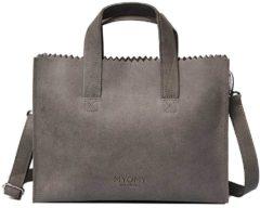 Bruine MYOMY My Paper Bag Taupe Handtas en Schoudertas MOM10671381