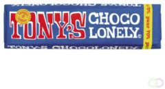 Chocolade Tony's Chocolonely reep 50gr puur