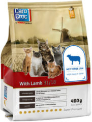 Carocroc With Lamb Gevogelte&Granen&Lam - Kattenvoer - 400 g - Kattenvoer