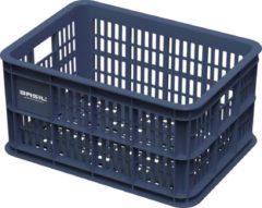 Basil Crate S Fietskrat - 25 liter - Blauw