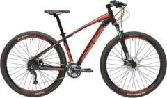 27,5 Zoll Herren Mountainbike 27 Gang Adriatica Wing... schwarz-rot, 51cm