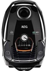 Zwarte AEG VX7-2-EBP - Stofzuiger met zak