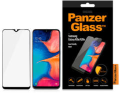 PanzerGlass Case Friendly Screenprotector voor de Samsung Galaxy A20e - Zwart