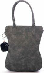 Grijze Madhura bags Curvy classic Dames Handtas Grey