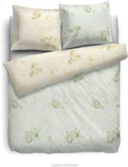 Groene Heckettlane HNL Velvet Touch dekbedovertrek Apples - Mint - Lits-jumeaux - 240x200/220 cm + 2 slopen
