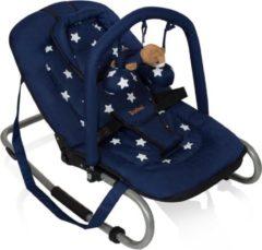 Zwarte Wipstoel Baninni Blue Star (incl. speelboog)