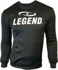 Legend Sports Sweater Heren Polyester Zwart Maat Xs