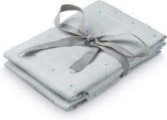 Blauwe Cam Cam Camcam hydrofiel doek etoile blue VPE:2 stuks