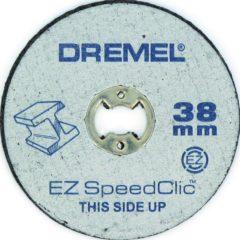 Metalen doorslijpschijven SpeedClic Dremel SC456 Dremel 2615S456JC Diameter 38 mm 5 stuks