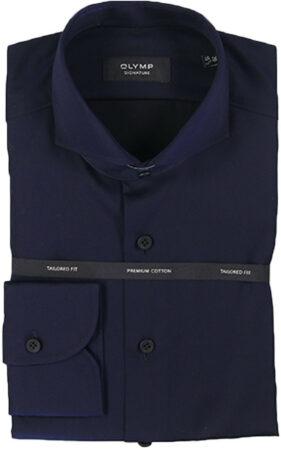 Afbeelding van Blauwe Olymp Dress hemd 851884