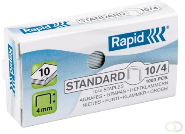 Afbeelding van Bruna Nieten Rapid nr.10 gegalvaniseerd standaard 1000 stuks