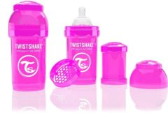 Twistshake Anti-colic babyfles -180 ml - Pink
