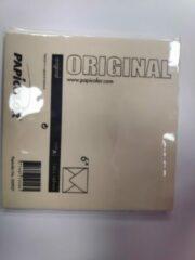 Creme witte Papicolor Original Envelop Creme 6 stuks 140 x 140 mm