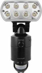 Blauwe ESP Wi-Fi beveiligingslamp met camera en app, GuardCam Led Wi-Fi