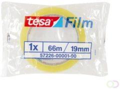 Transparante Tesa Film Plakband - 19 mm x 66 m - Standaard