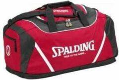 Spalding Sporttas Large - Zwart/Rood