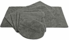 Vandyck wc mat (per stuk) (55x55 cm) Grijs