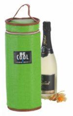 BE COOL Champagnekoeler - wijnkoeler Outdoor groen   Koeltas   Coolingbag   Winecooler   2ltr