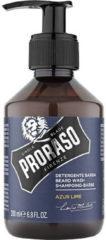 Ghd Proraso baard shamp. azur&lime 200 ml