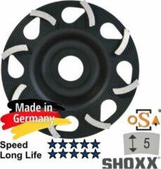 Zilveren Sameda 125mm x 22.23 Diamant komschijf SAMEDIA Germany - 350008 SHOXX C E5