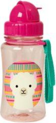 Roze Skip Hop Zoo Drinkbeker - Met rietje - 350 ml - Llama
