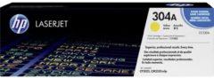 HP 304A CC532A Tonercassette Geel 2800 bladzijden Origineel Tonercassette