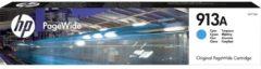 Originele HP 913A cyaan inktcartridge voor HP PageWide 377/452/477 (F6T77AE)