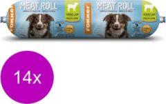 Fokker Dog Meat Roll - Hondenvoer - 14 x Lam 350 g