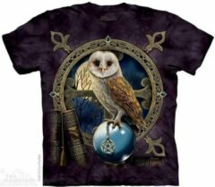 Witte Yogi & Yogini T-Shirt Mountain Artwear Spell Keeper M