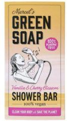 Marcel's Green Soap Marcel's groen Soap Showerbar Vanilla&Cherry Blossom 150 gr
