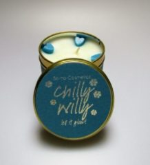 Blauwe Bomb Cosmetics Waxkaars 'Chilly Willy'