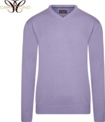 Cappuccino Italia - Heren Sweaters Pullover Lilac - Paars - Maat M