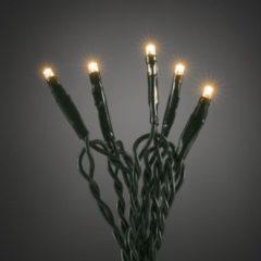 Donkergroene Konstsmide Lichtsnoer Led Binnen 63 Cm Groen 10 Lampjes