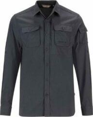 Grijze Life-Line Jowan Blouse - Heren Outdoor Overhemd - Anti-Insect Werking