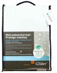 Witte Gilder Tencel Bio (waterdichte) hoeslaken 160 x 200 cm