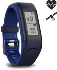 Garmin vivosmart HR+ GPS-horloge met geïntegreerde sensor Kledingmaat: M Blauw